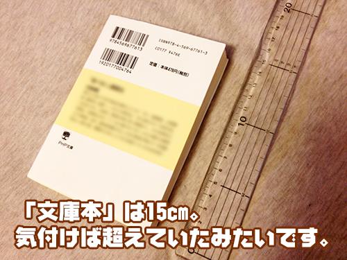 文庫本サイズ ペニス