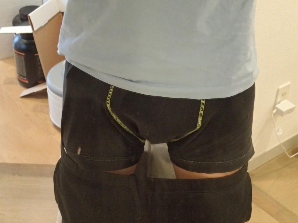ファローサンフォルテ装着時パンツ
